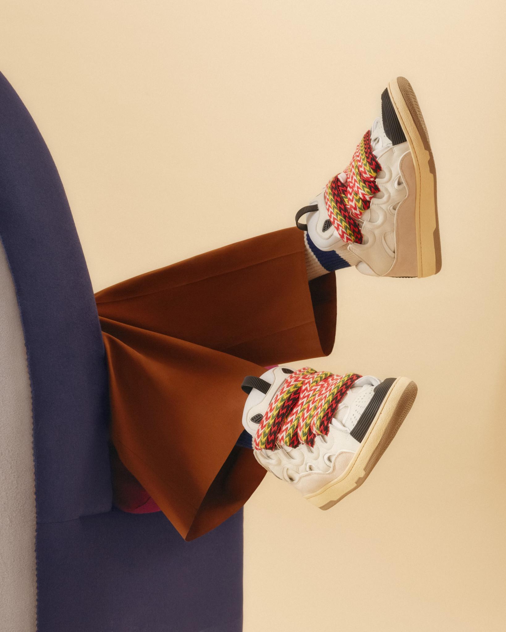 Lanvin Curb Sneaker