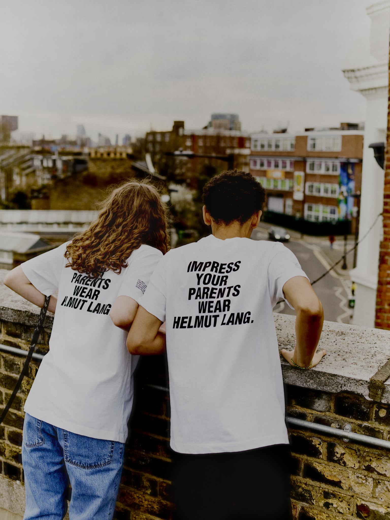Helmut Lang Slogan Campaign