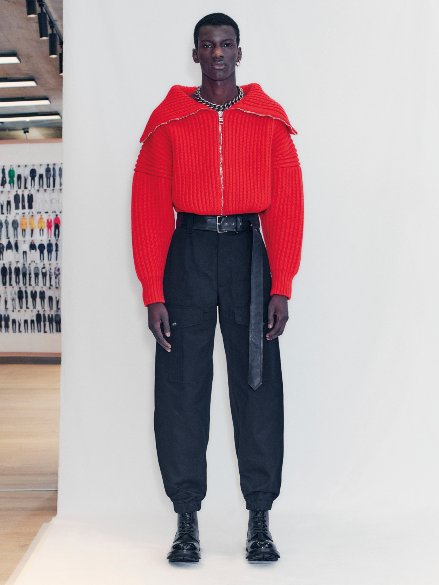 mcqueen aw21 saturated colour