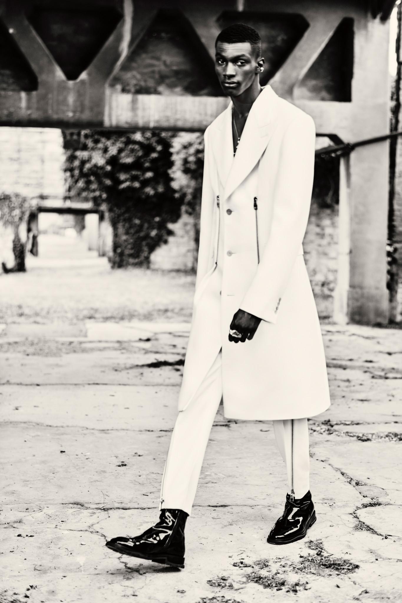 McQueen Menswear SS22