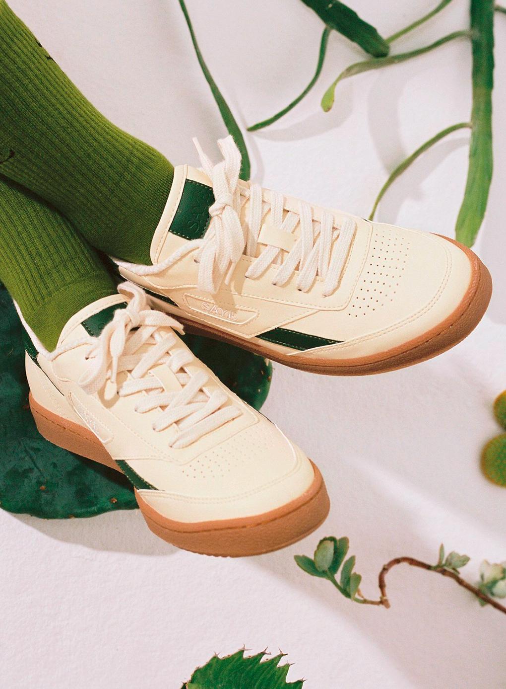 Saye vegan cactus trainers