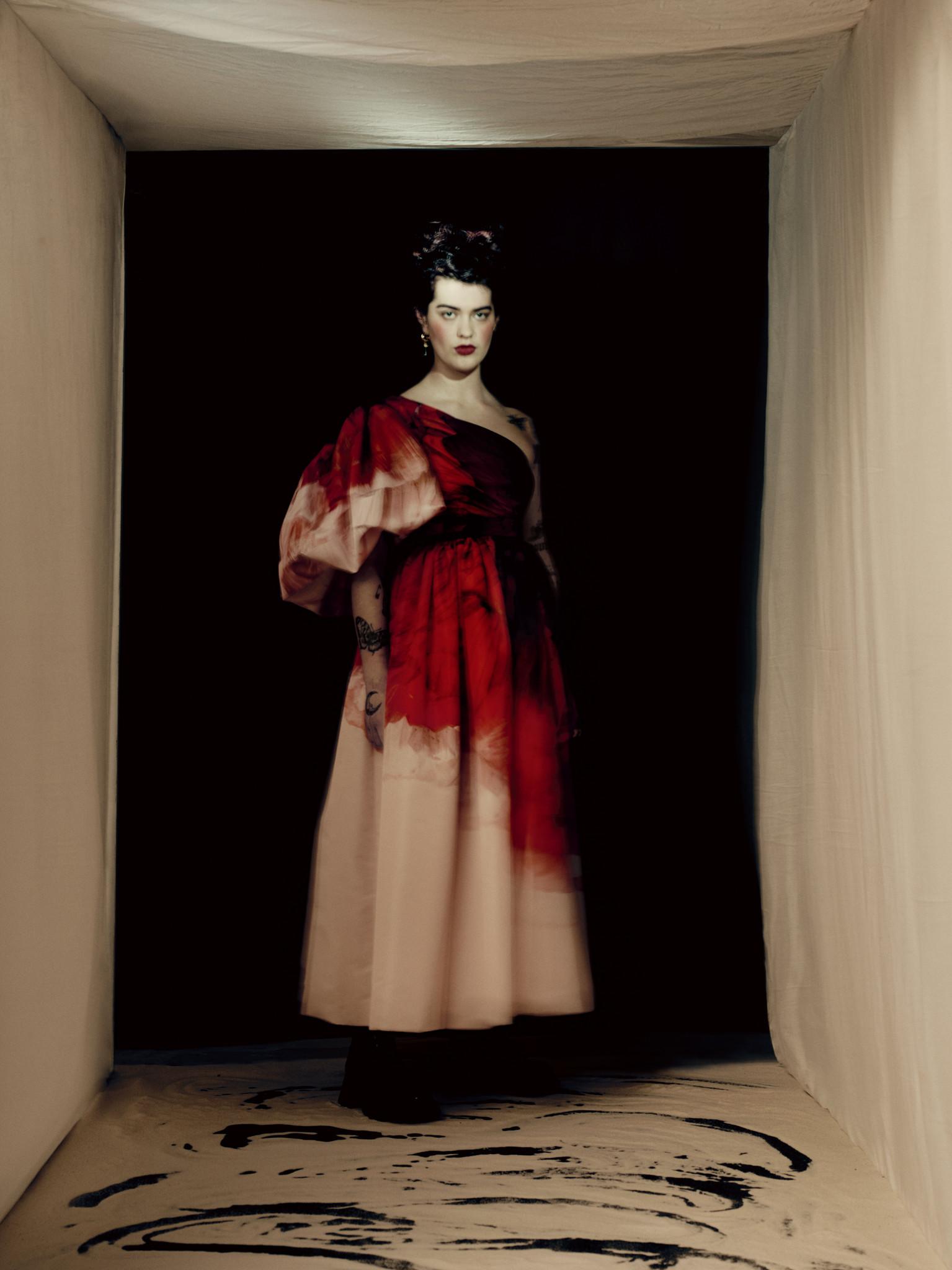 Alexander McQueen Anemone Dress