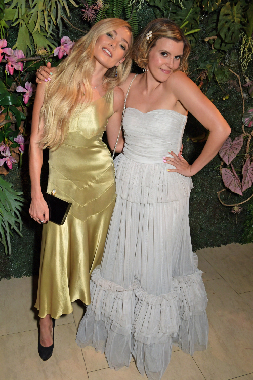 Clara Paget and Georgia Lewis Anderson at Annabel's For The Amazon